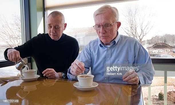 Senior Men and Coffee