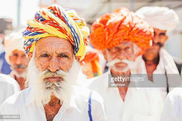 Senior men, Sabbalpura village