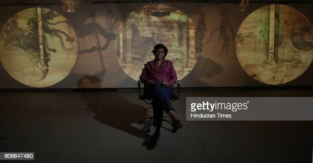 A senior multimedia artist Nalini Malani