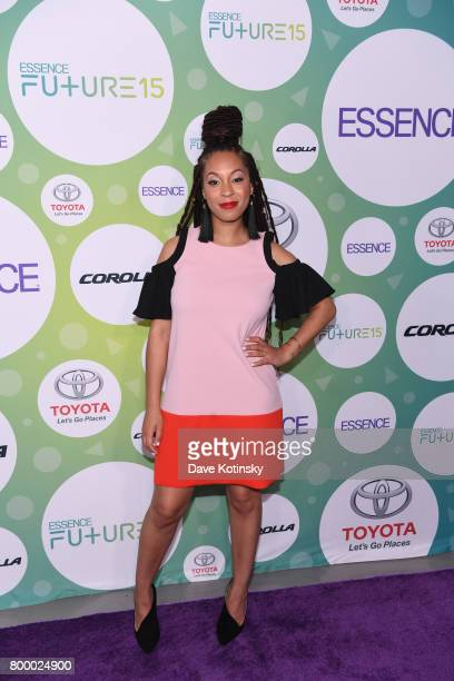 Senior News Culture Editor at Essence Magazine Christina Coleman attends the Essence Toyota Future 15 Event at Root NYC on June 22 2017 in New York...
