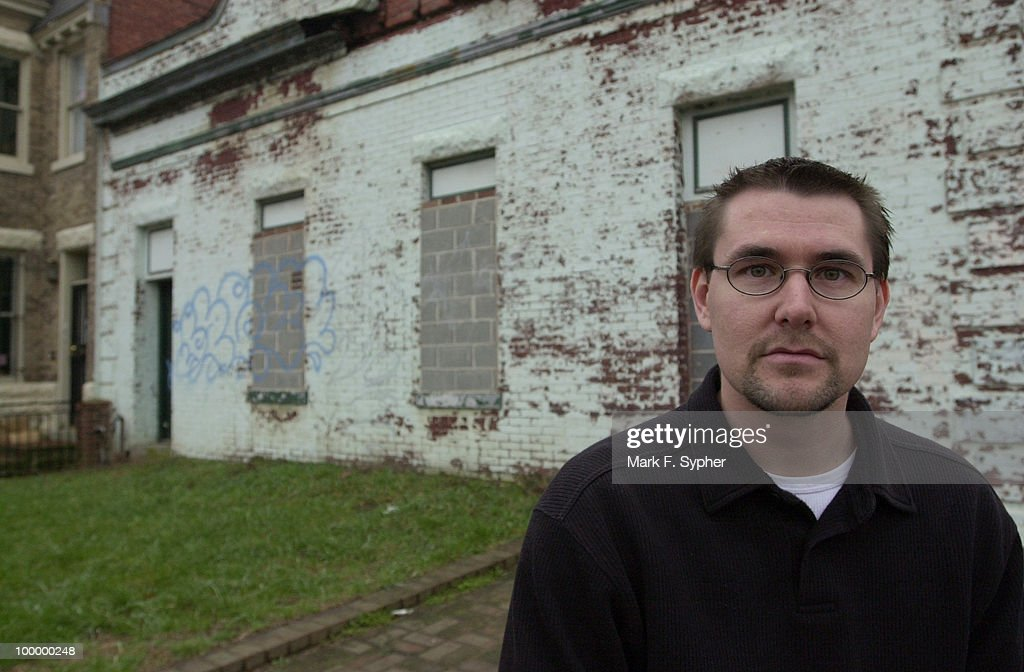 Senior Pastor, Mark Batterson, standing at the site of the proposed coffeehouse at 201 F St. NE.