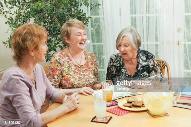 Senior Social Gathering Book Club and Reading Group