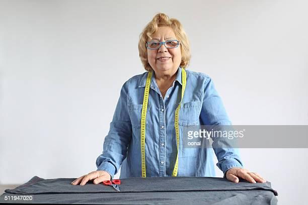 Autentico Ritratto di donna Senior su misura