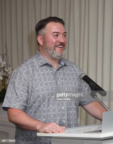 Senior Vice President and General Manager of AOL Core Products Services Dave McDowell attends Academy Award Winner and LERN Spokesperson Kathy Bates...
