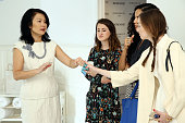Senior Vice President General Manager at Dermarche Labs Esther Dong attends the Dermarche Labs Launch of New AM PM Beauty Serum BioREWIND At 24th...