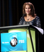 PBS senior vice president of Children's Media Lesli Rotenberg speaks during the 'PBS Kids' panel at the PBS portion of the 2011 Winter TCA press tour...
