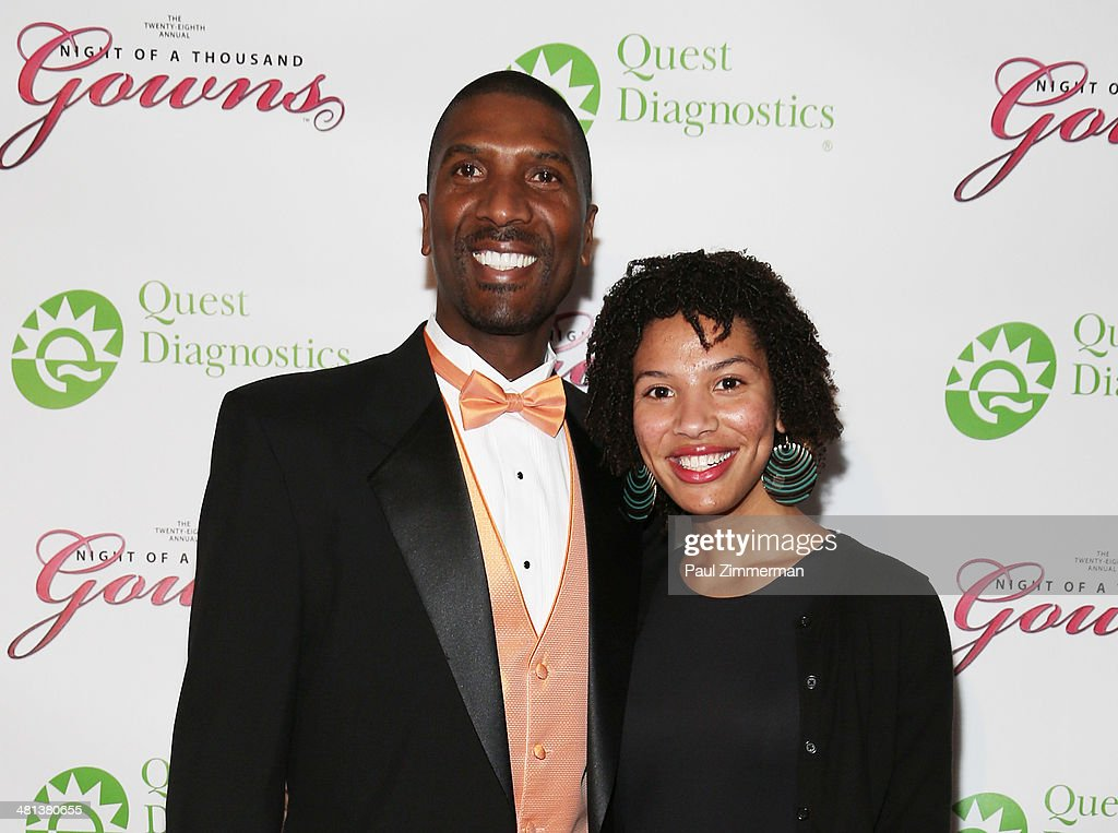 Senior Vice President of Commercial,Quest Diagnostics, Everett Cunningham (L) attend the 28th annual Night of a Thousand Gowns at the Marriott Marquis Times Square on March 29, 2014 in New York City.