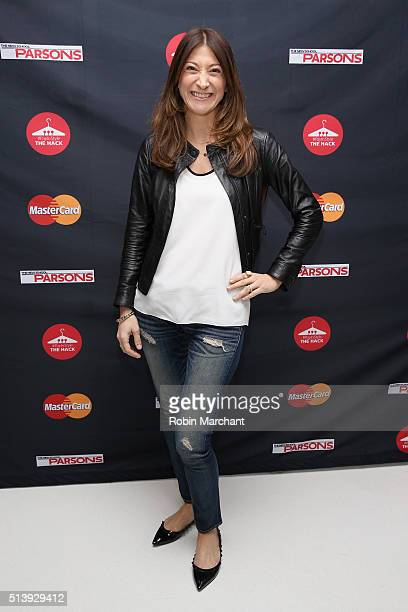 Senior Vice President of Digital Payments and Labs for MasterCard Sherri Haymond attends the MasterCard hosted Fashion and Design Hack competition...