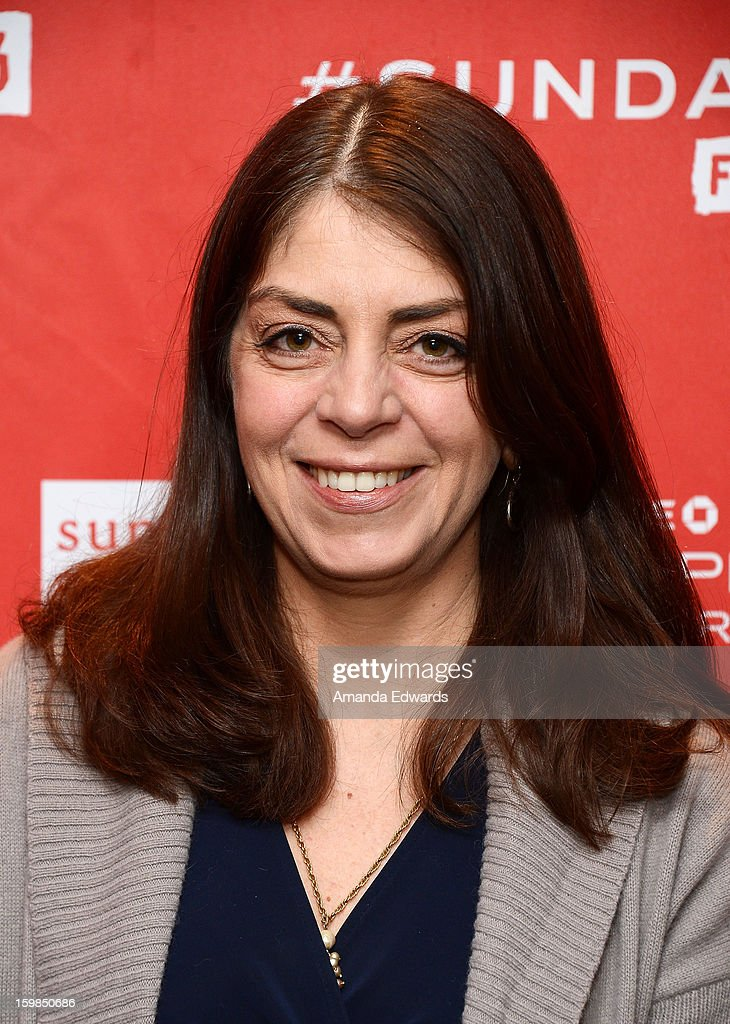 Senior Vice President of Documentary Films Nancy Abraham arrives at the 2013 Sundance Film Festival Premiere of 'Life According To Sam' at Temple Theater on January 21, 2013 in Park City, Utah.