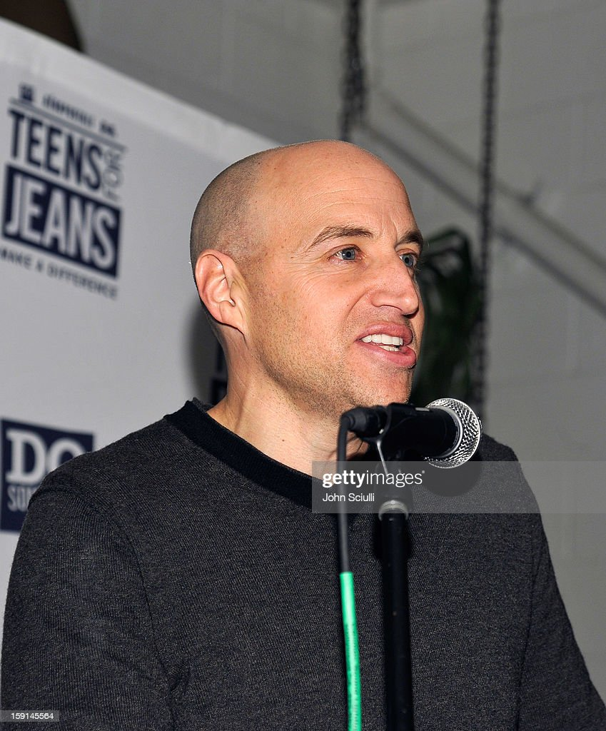 Senior Vice President of Marketing & E-Commerce of Aeropostale Scott Birnbaum attends the DoSomething.org and Aeropostale launch of the 6th annual 'Teens For Jeans' hosted by Chloe Moretz at Palihouse on January 8, 2013 in West Hollywood, California.