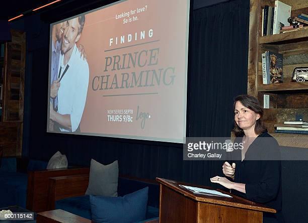 Senior Vice President Original Programming Series Development Pamela Post attends Logo's 'Finding Prince Charming' Premiere Screening And Reception...