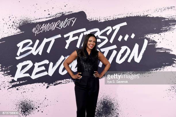 Senior Vice President US Marketing L'Oreal Paris Anne Marie NelsonBogle poses during Glamour Celebrates 2017 Women Of The Year Live Summit at...