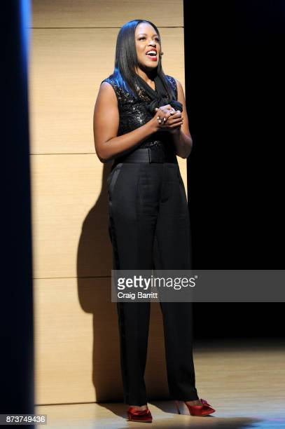 Senior Vice President US Marketing L'Oreal Paris Anne Marie NelsonBogle speaks onstage during Glamour Celebrates 2017 Women Of The Year Live Summit...
