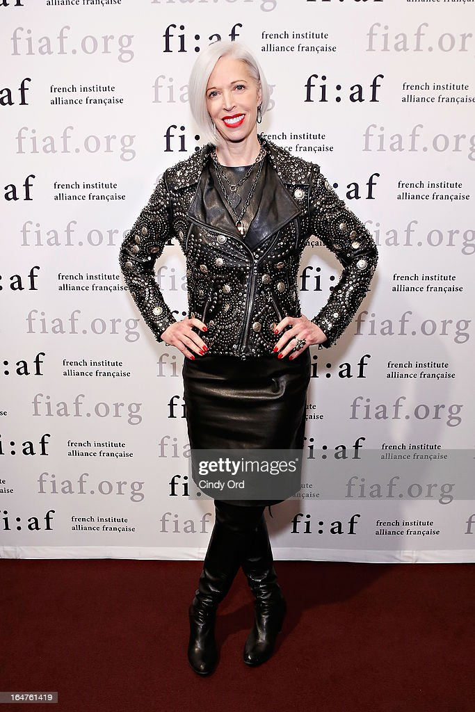 Senior VP, Fashion Office and Store Presentation of Bergdorf Goodman, Linda Fargo attends Fashion Talks 2013 Presents: Naeem Khan at Florence Gould Hall on March 27, 2013 in New York City.