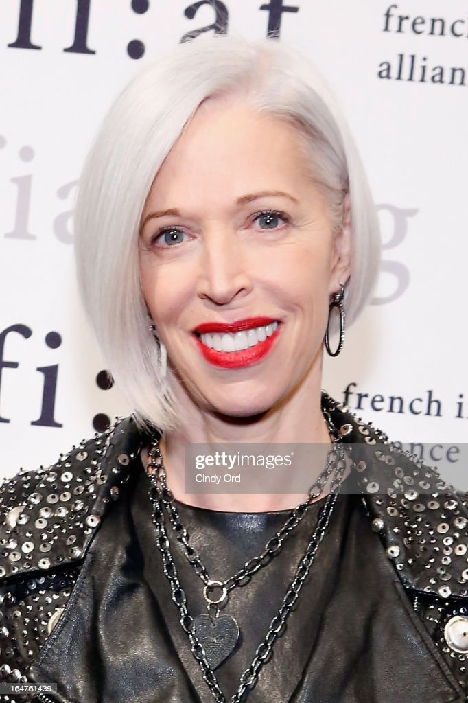 Senior VP, Fashion Office and Store Presentation of Bergdorf Goodman, <a gi-track='captionPersonalityLinkClicked' href=/galleries/search?phrase=Linda+Fargo&family=editorial&specificpeople=592060 ng-click='$event.stopPropagation()'>Linda Fargo</a> attends Fashion Talks 2013 Presents: Naeem Khan at Florence Gould Hall on March 27, 2013 in New York City.