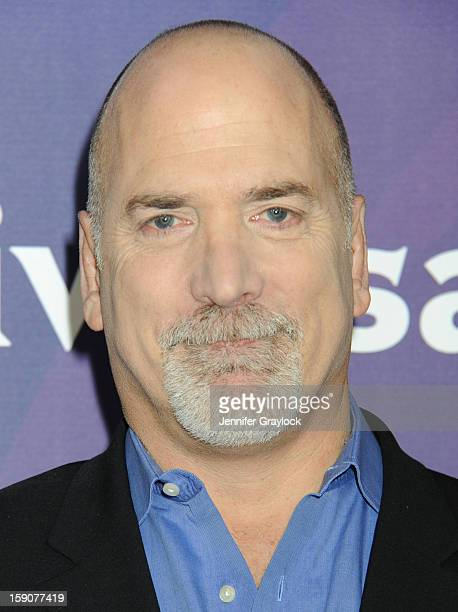 Senior VP Primetime Alternative Format Programing CNBC Jim Ackerman attends the NBC 2013 TCA Winter Press Tour Day 2 held at The Langham Huntington...