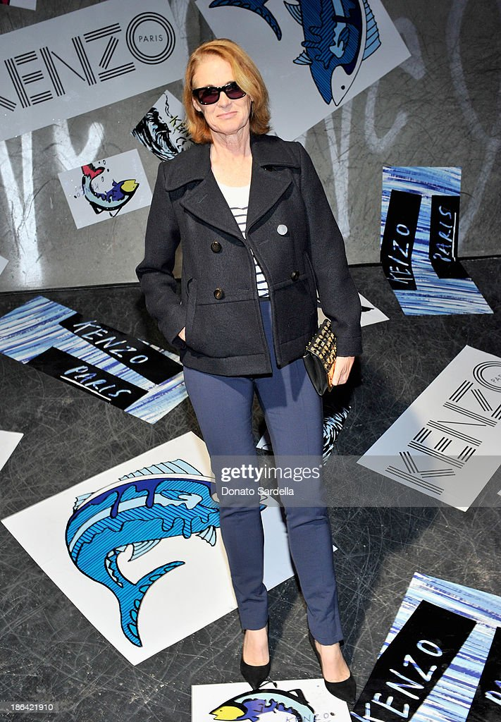 Senior West Coast Editor of Vogue Lisa Love attends the Kenzo Kalifornia launch dinner and party at The Berrics on October 30, 2013 in Los Angeles, California.