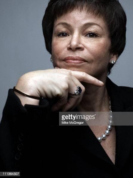 Senior White House Advisor Valerie Jarrett is photographed for Time Magazine in on February 20 2009 in Washington DC