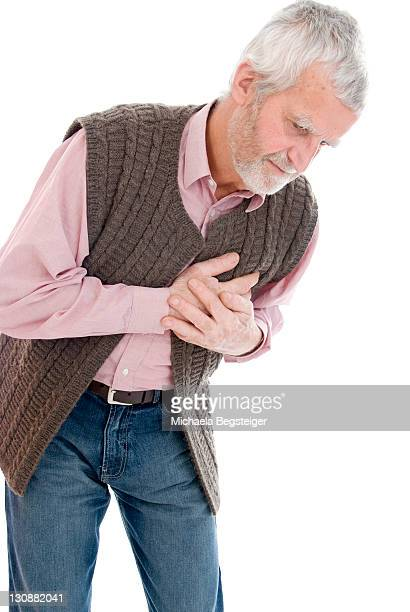 Senior with heart troubles