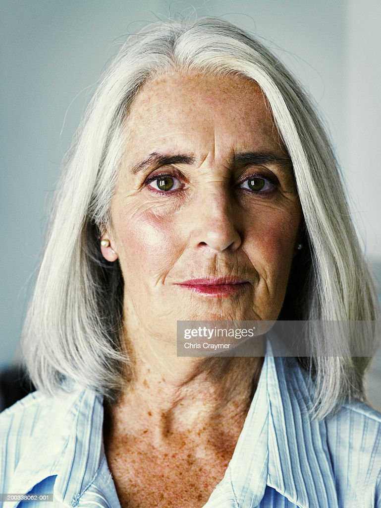 senior woman close up portrait photo getty images. Black Bedroom Furniture Sets. Home Design Ideas