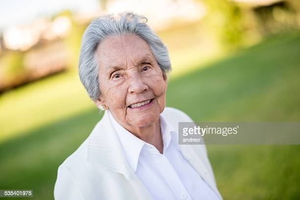 Senior woman enjoying her retirement