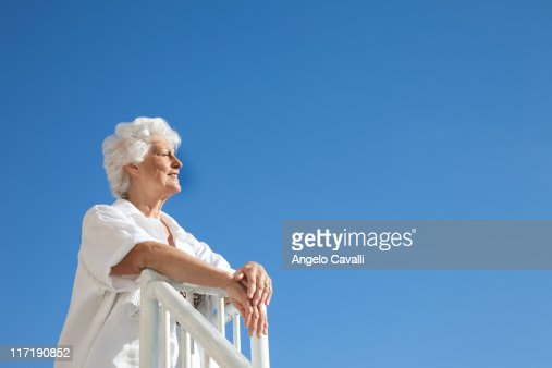 Senior Woman on the beach