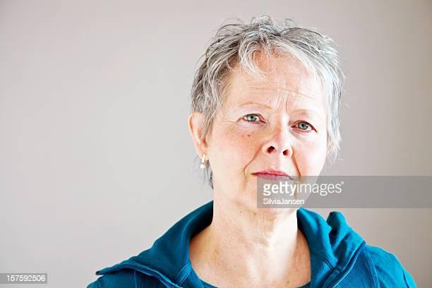 Ritratto di donna senior