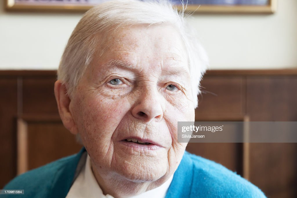 Senior woman portrait
