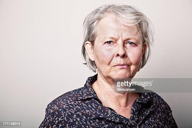senior Frau Porträt