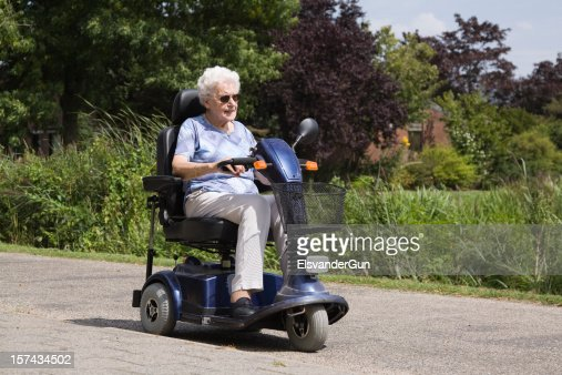 Motor cart stock photos and pictures getty images for Motorized carts for seniors