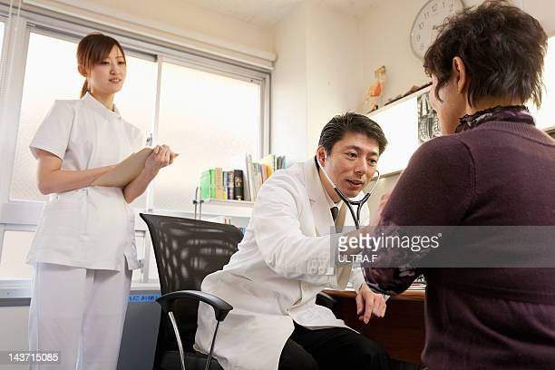 Senior Woman Seeing Doctor