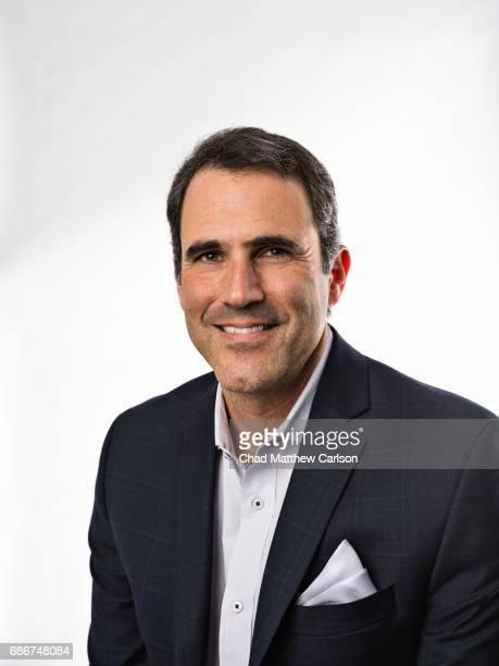 Closeup portrait of Seth Davis during photo shoot at Time Life Building New York NY CREDIT Chad Matthew Carlson