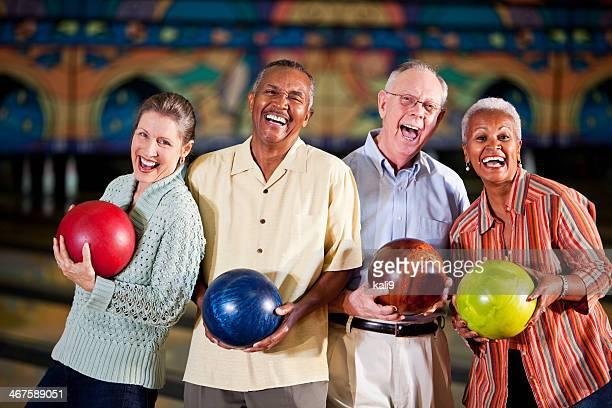 Les retraités de bowling