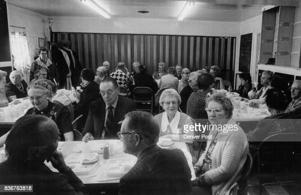 MAR 19 1974 MAR 21 1974 MAR 27 1974 35 seniors enjoy initial meal in Golden program 35 served at Pleasant view Credit Denver Post