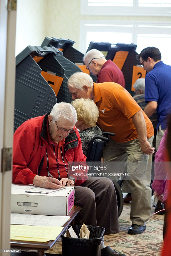 Image result for seniors voting united states