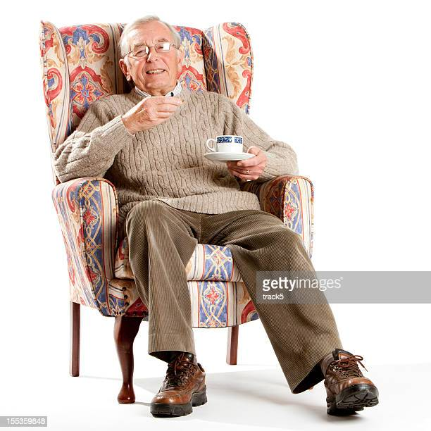 3 ème âge: Old Gentleman anglais