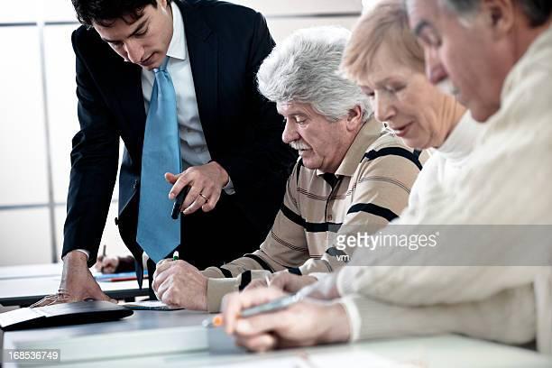 Anziani sul seminario