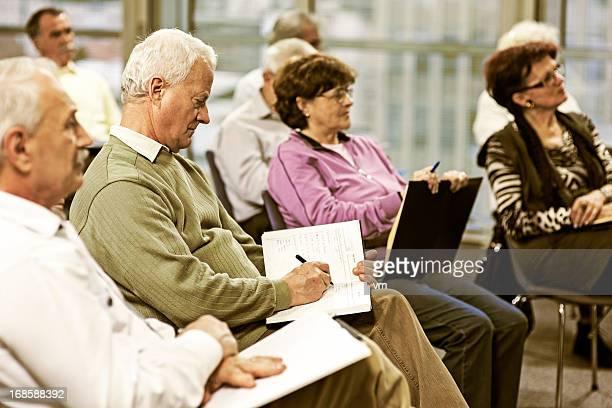 Seniors on the seminar