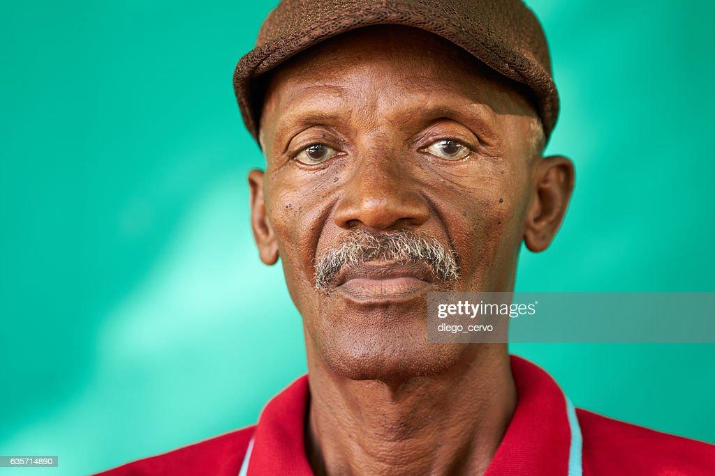 Images of old black men