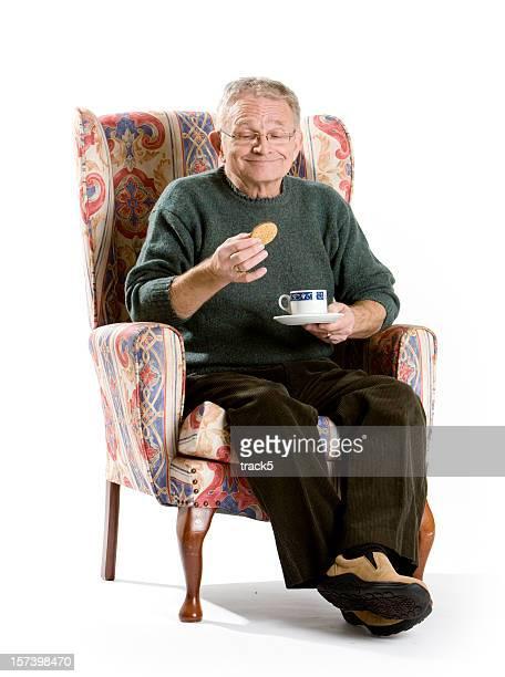 Senioren: Tee und Kekse