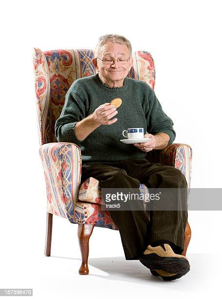 seniors: tea and biscuits