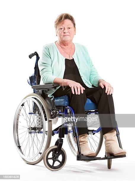 seniors: wheelchair user