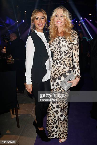 Senna Guemmour and Dolly Buster attend the Mira Award 2014 on January 23 2014 in Berlin Germany