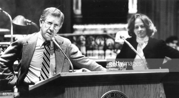 Sens Fowler and Ezzard took part in debate on RTD bill on Senate floor Credit The Denver Post
