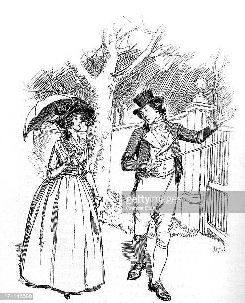 'Sense and Sensibility' by Jane Austen John tells Elinor how much he hopes Marianne will marry Colonel Brandon First published in 1896 Chapter L...
