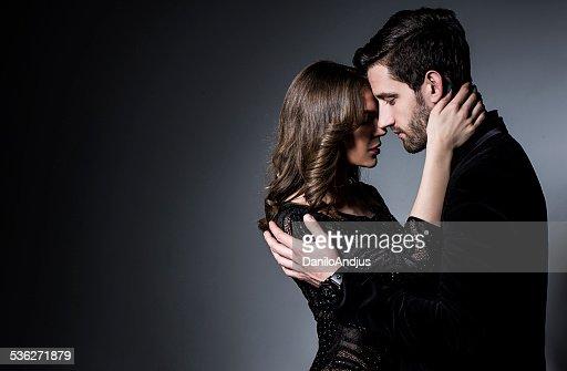 ロマンティックなカップル
