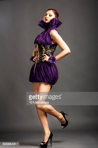 Sensual Fashion Model