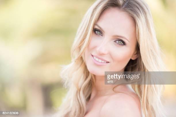 Sensual Playful Portrait of a beautiful Woman