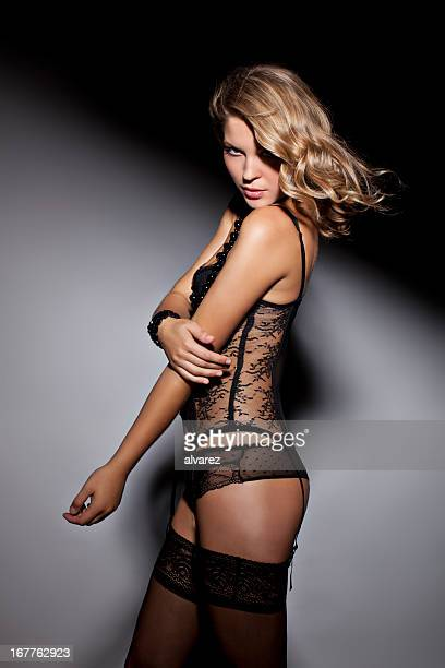 Mulher Sensual em lingerie
