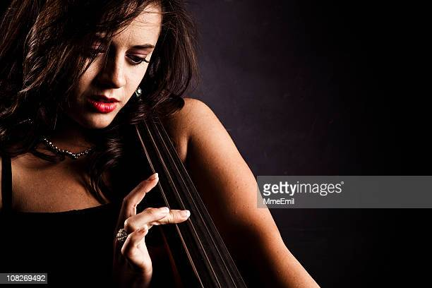Sensuality and double bass